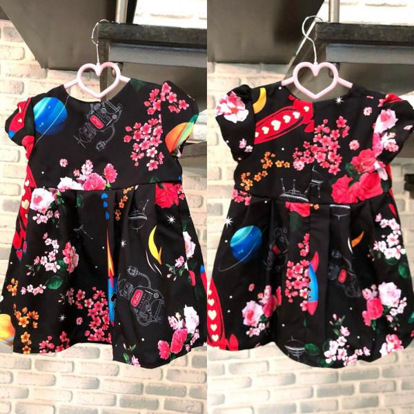 Платье детское familylook 10954