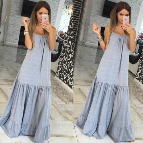 Платье в пол 10573