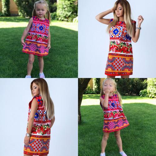 Нарядное детское платье Family Look 10846