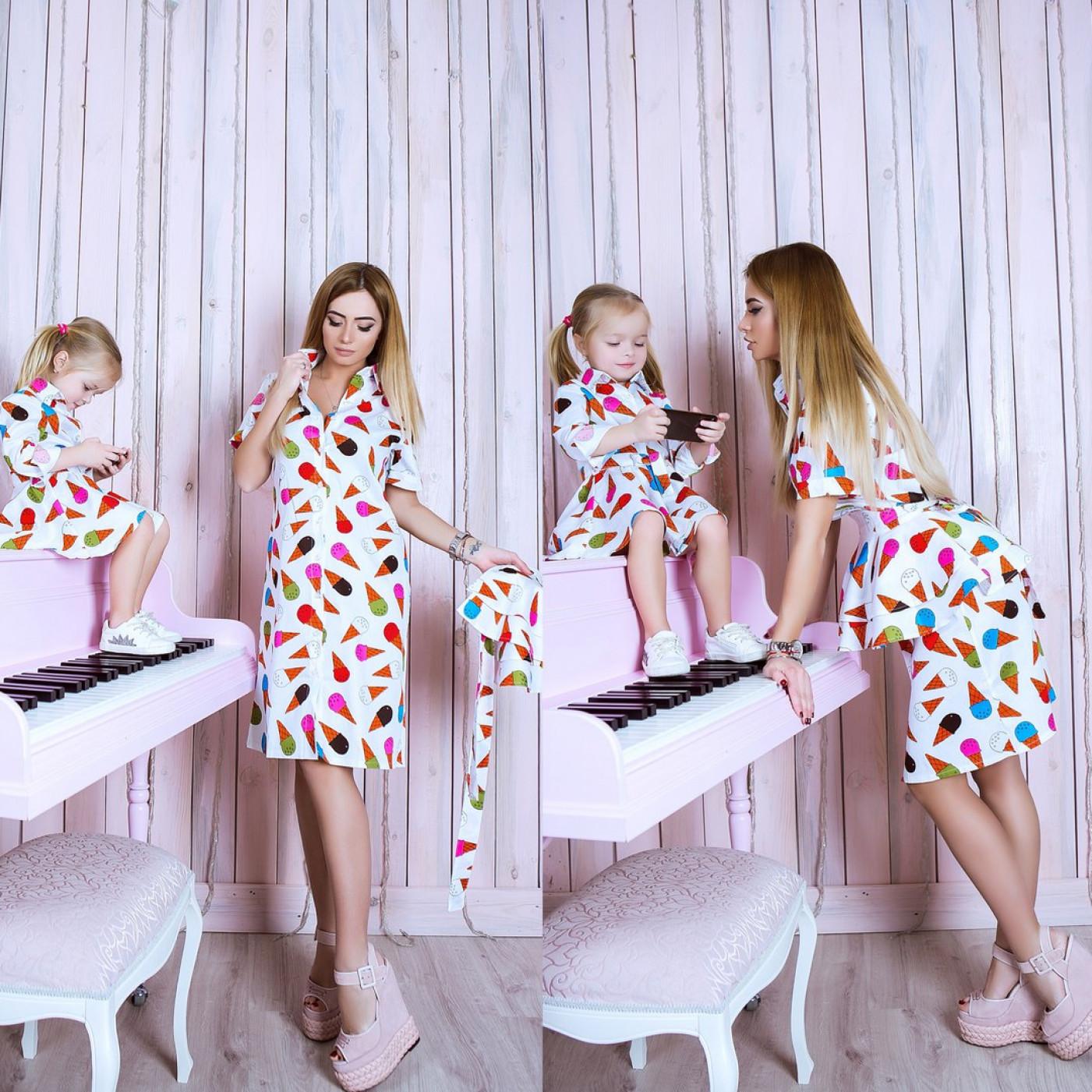 Сукня дитяча familylook 10746