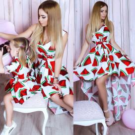 Платье детское familylook 10746