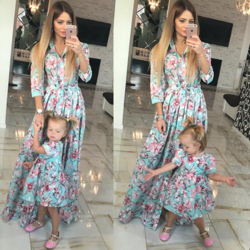 Платье детское familylook 10505