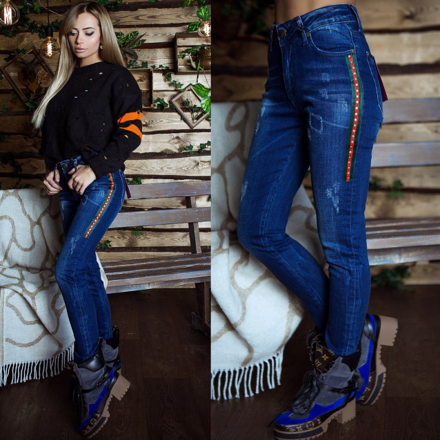 Стильные джинсы 6655