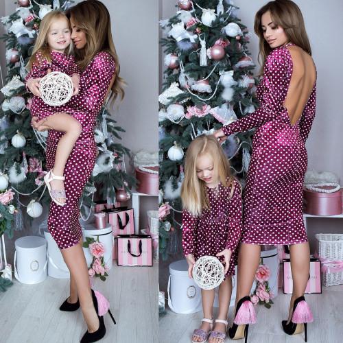 Платье взрослое familylook 10919