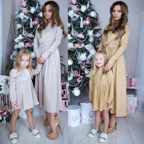 Платье детское familylook 10922