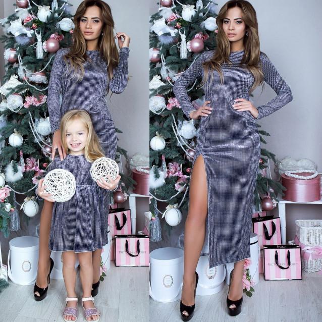 Платье взрослое familylook 10920