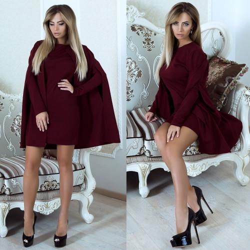 Необычное платье-накидка 10910