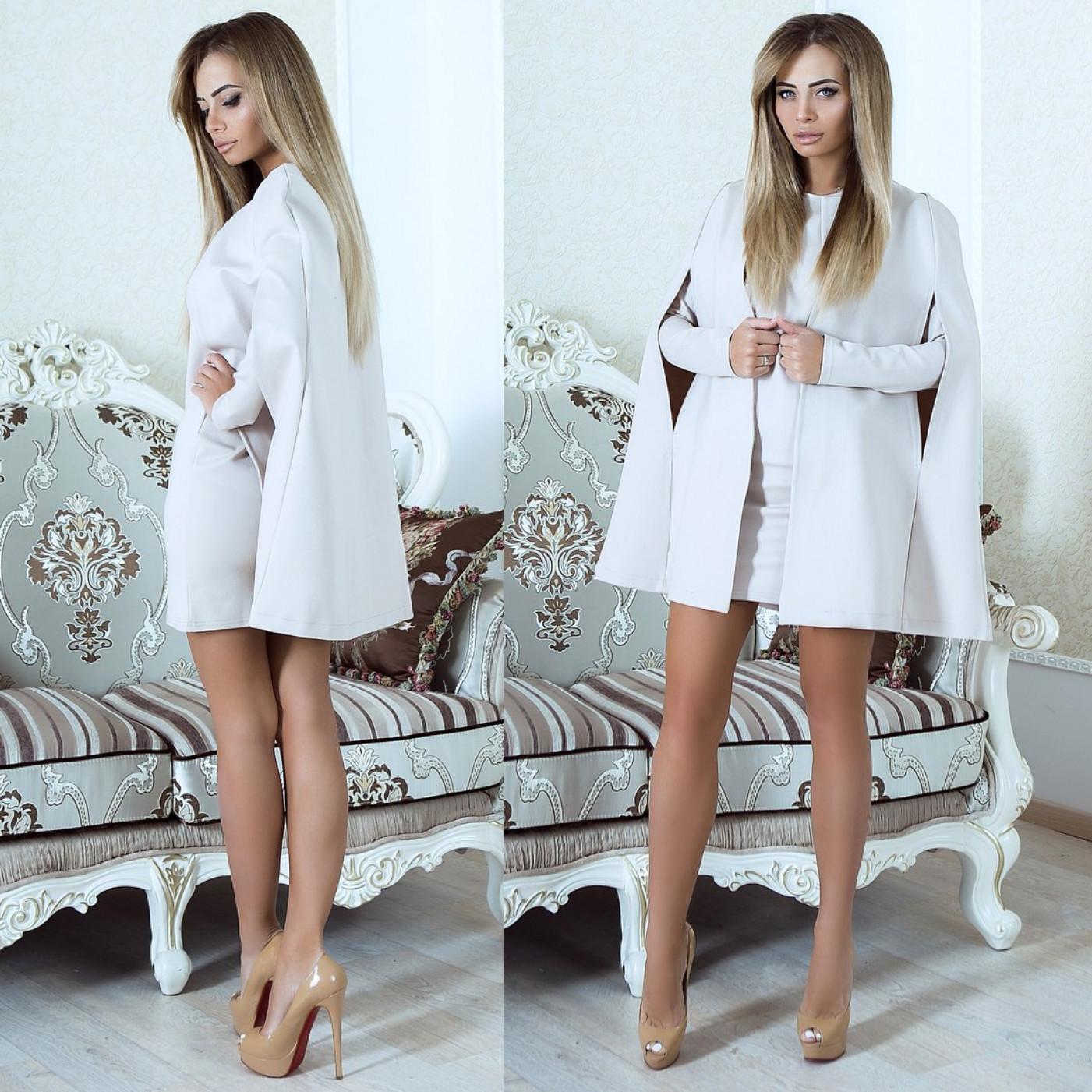 Незвичайне плаття-накидка 10910