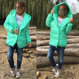Куртка стильная зефирка 10644