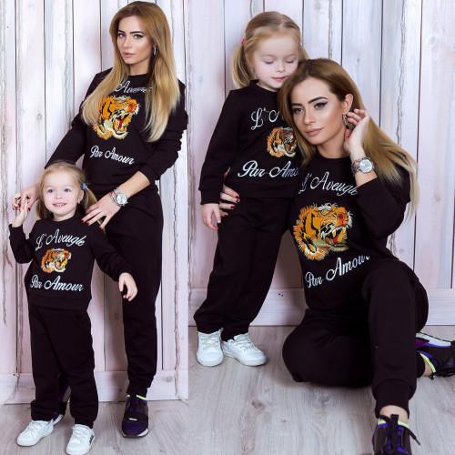Костюм детский Family Look c вышивкой ТИГР 10759