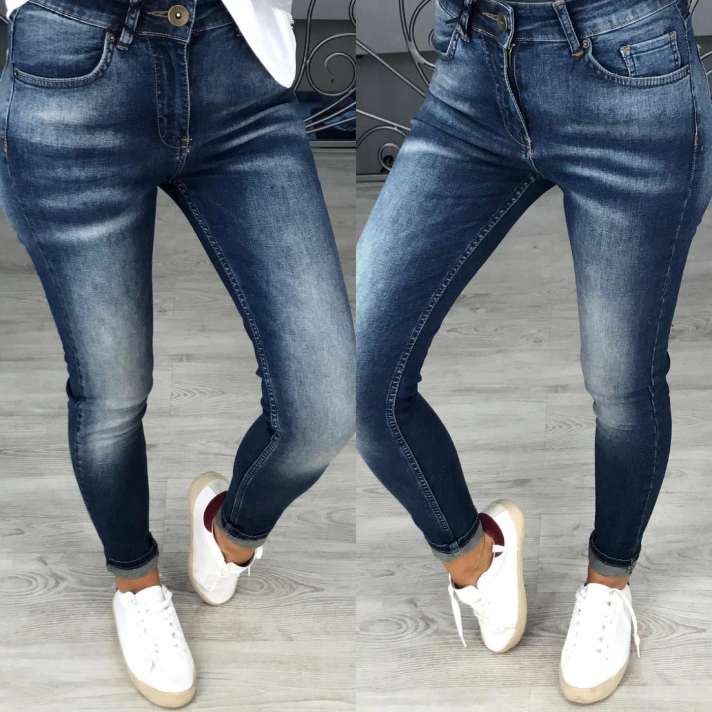 Стильні жіночі джинси 734-0
