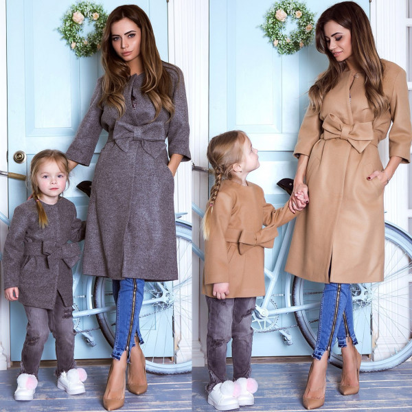 Пальто дитяче familylook 11027