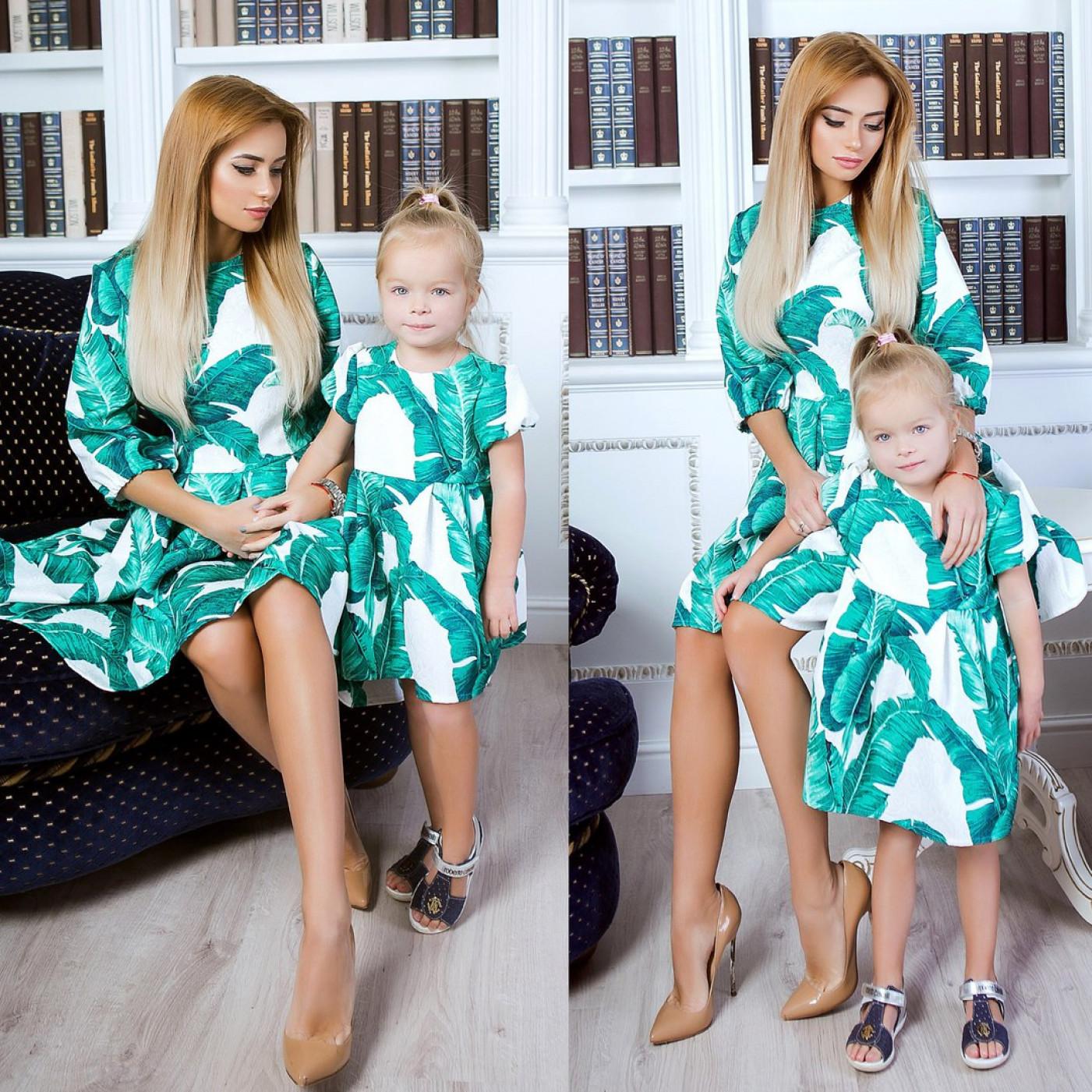 Сукня дитяча familylook 10714