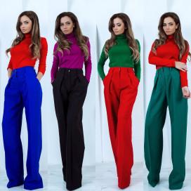 Расклешенные брюки 11012