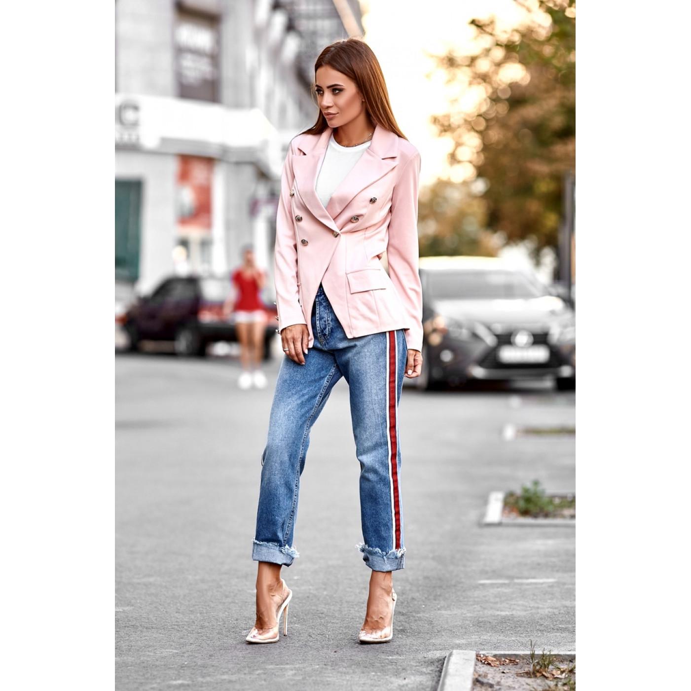 Двубортный пиджак 11090
