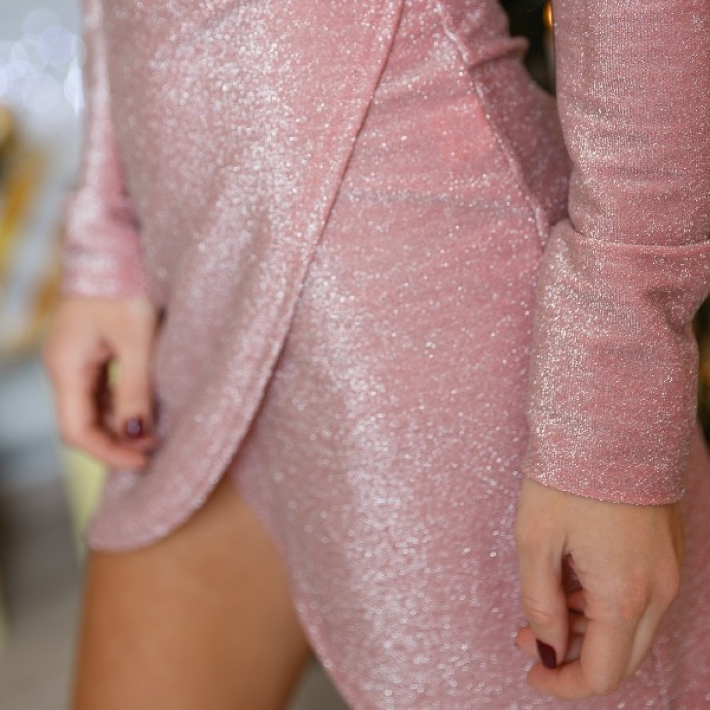 Модное мини платье 11202