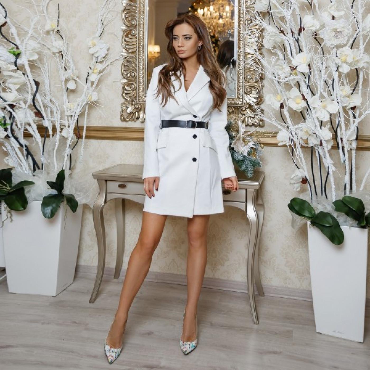 Елегантне плаття з поясом 11166