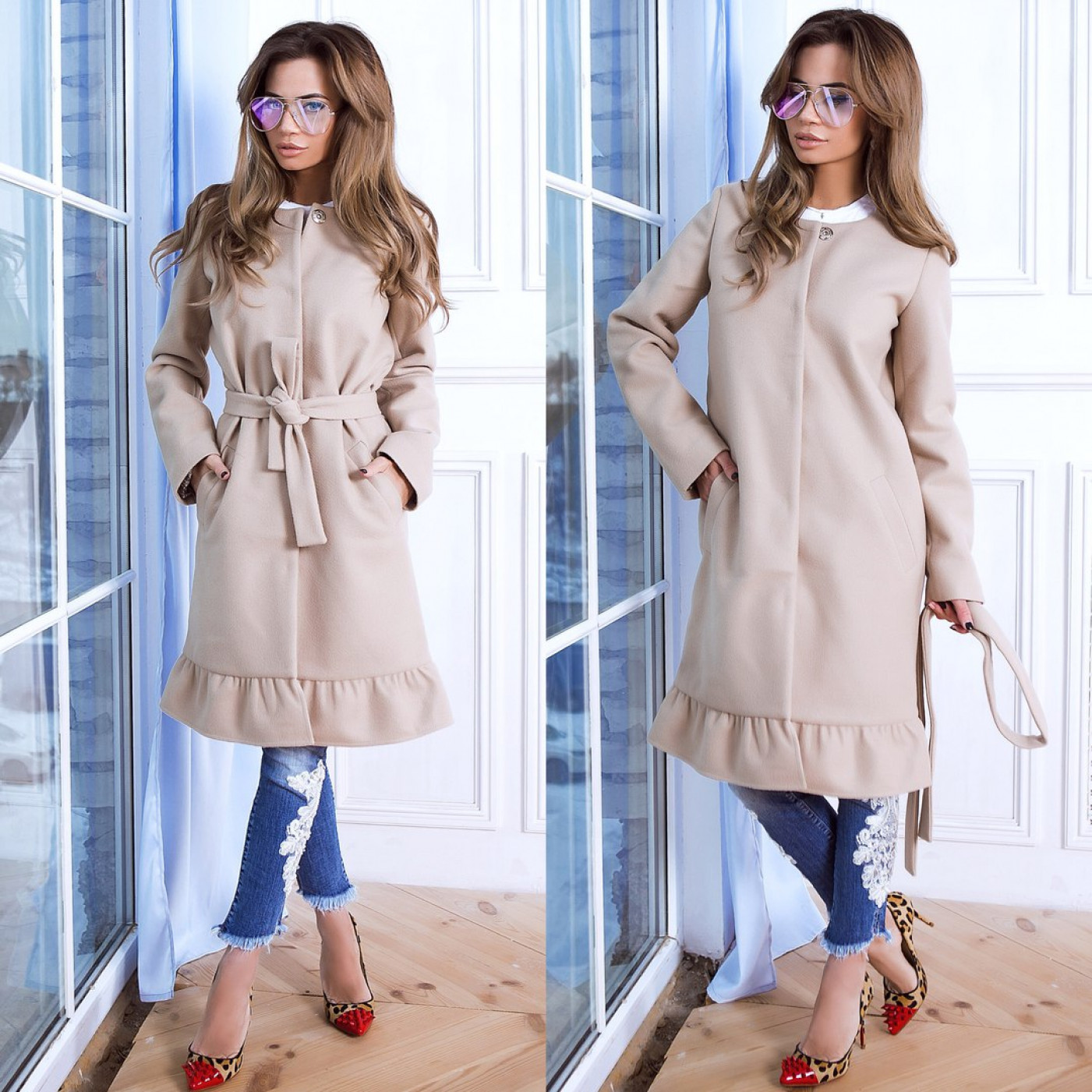 Жіноче пальто 10984-1