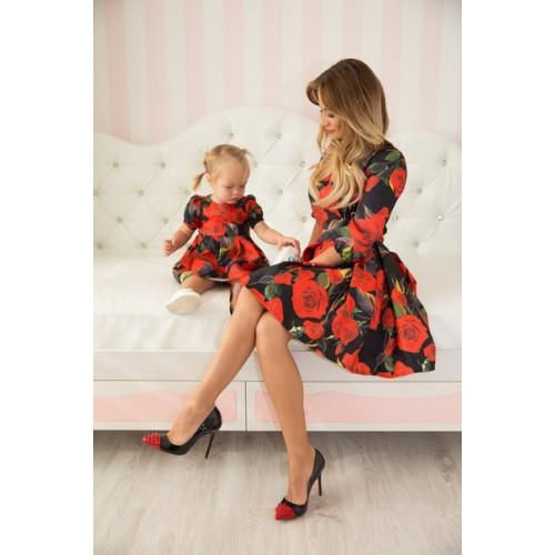 Платье детское РОЗЫ 10369