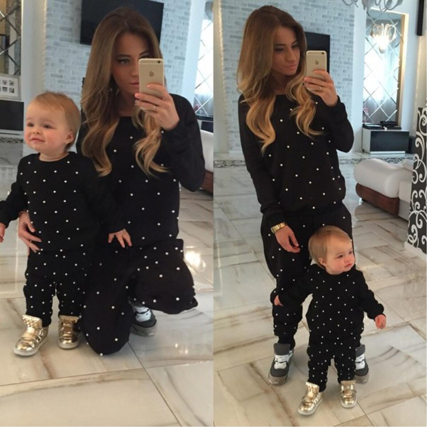 Дитячий костюм Мама і донька 10114