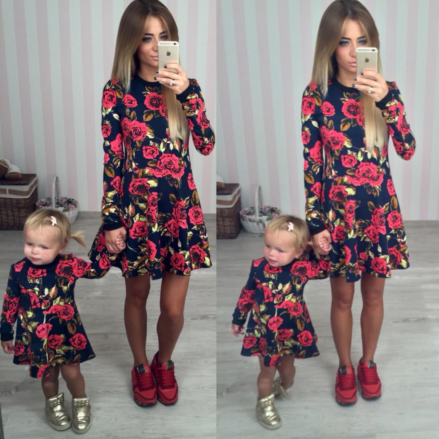 Нарядное детское платье РОЗЫ 10319