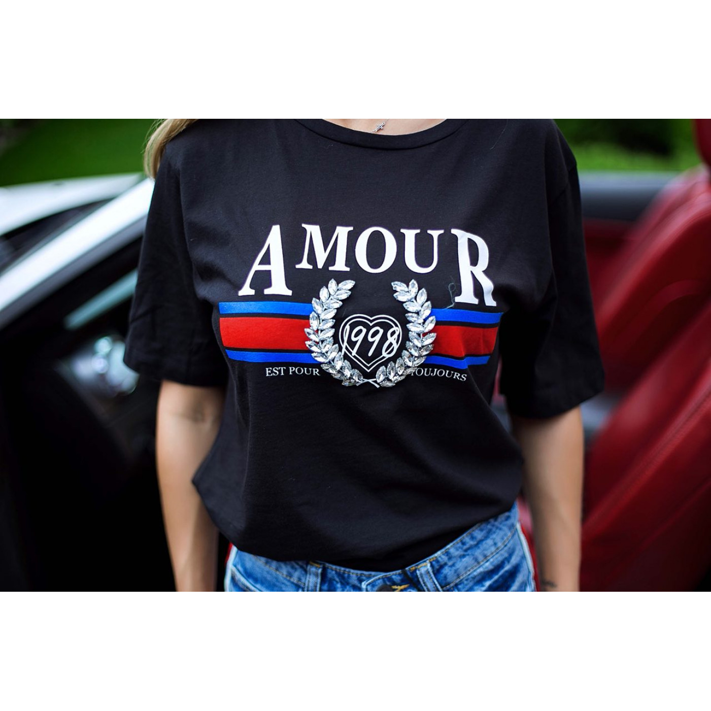 Стильна футболка 5474
