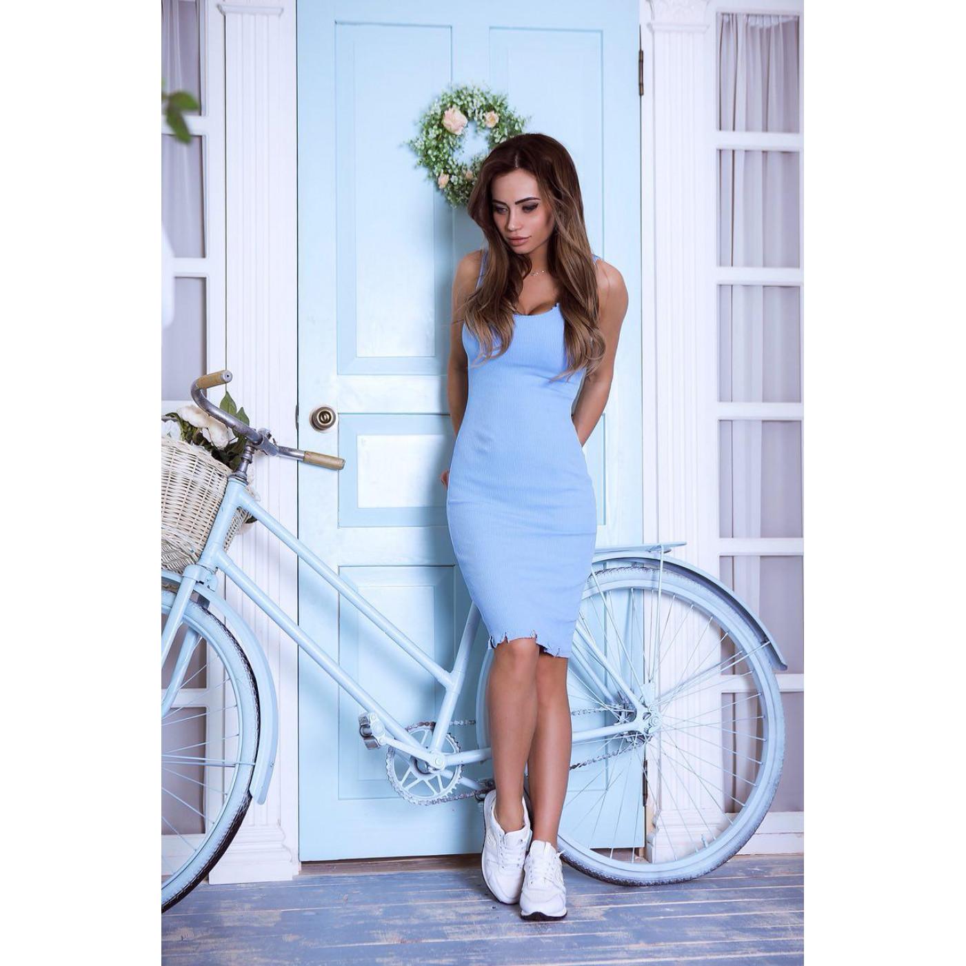 Облегающее летнее платье 53533