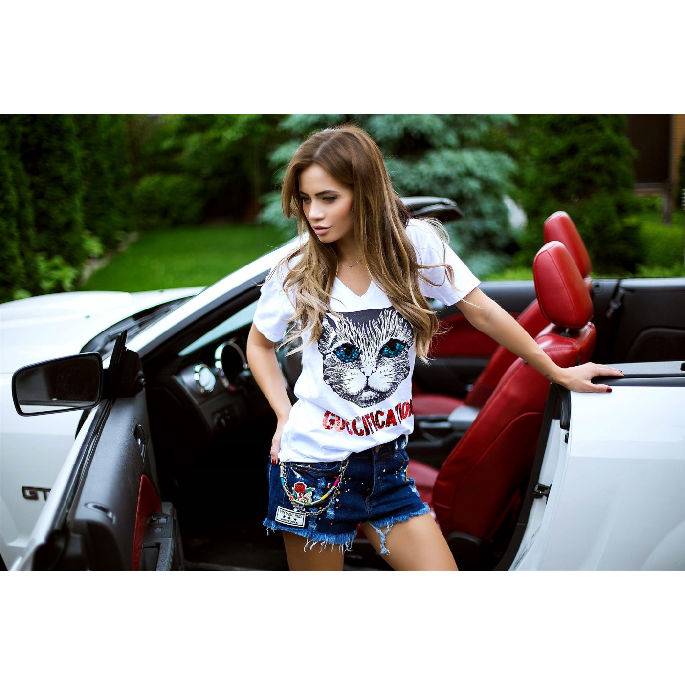 Женские джинсовые шорты 3038