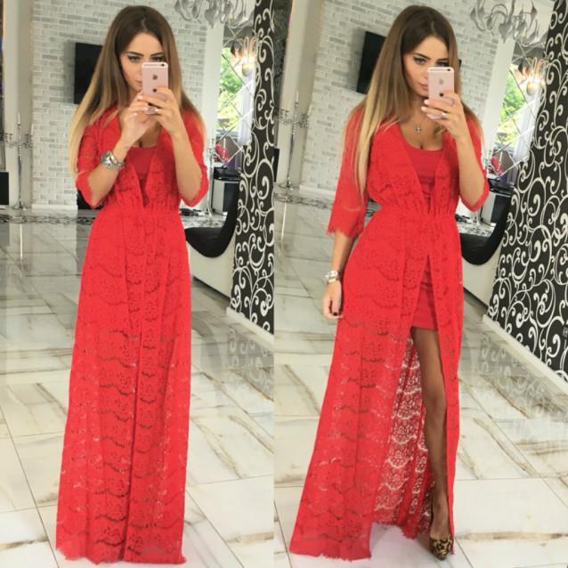 Вечернее платье в пол 10542