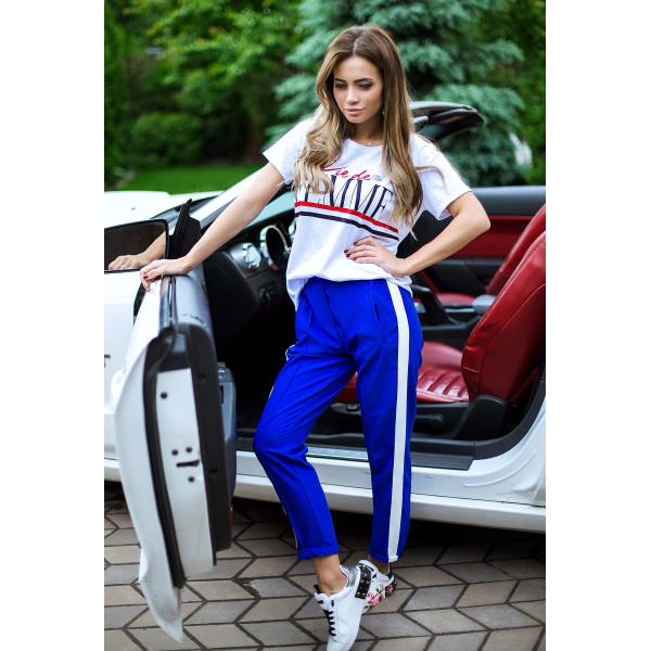 Молодежные футболки женские 3521