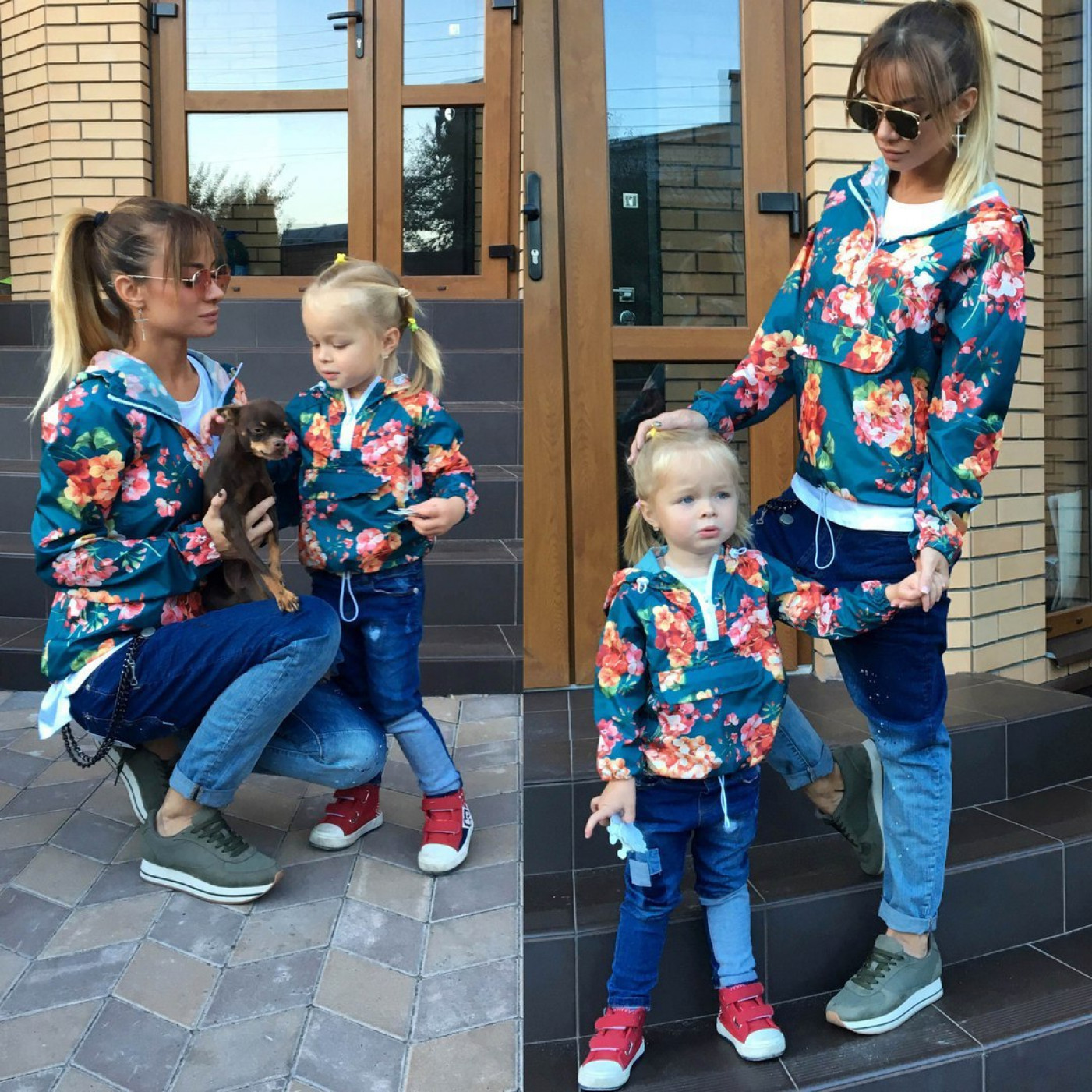 Ветровка детская familylook  10624