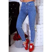 Зауженные джинсы женские 1025-0