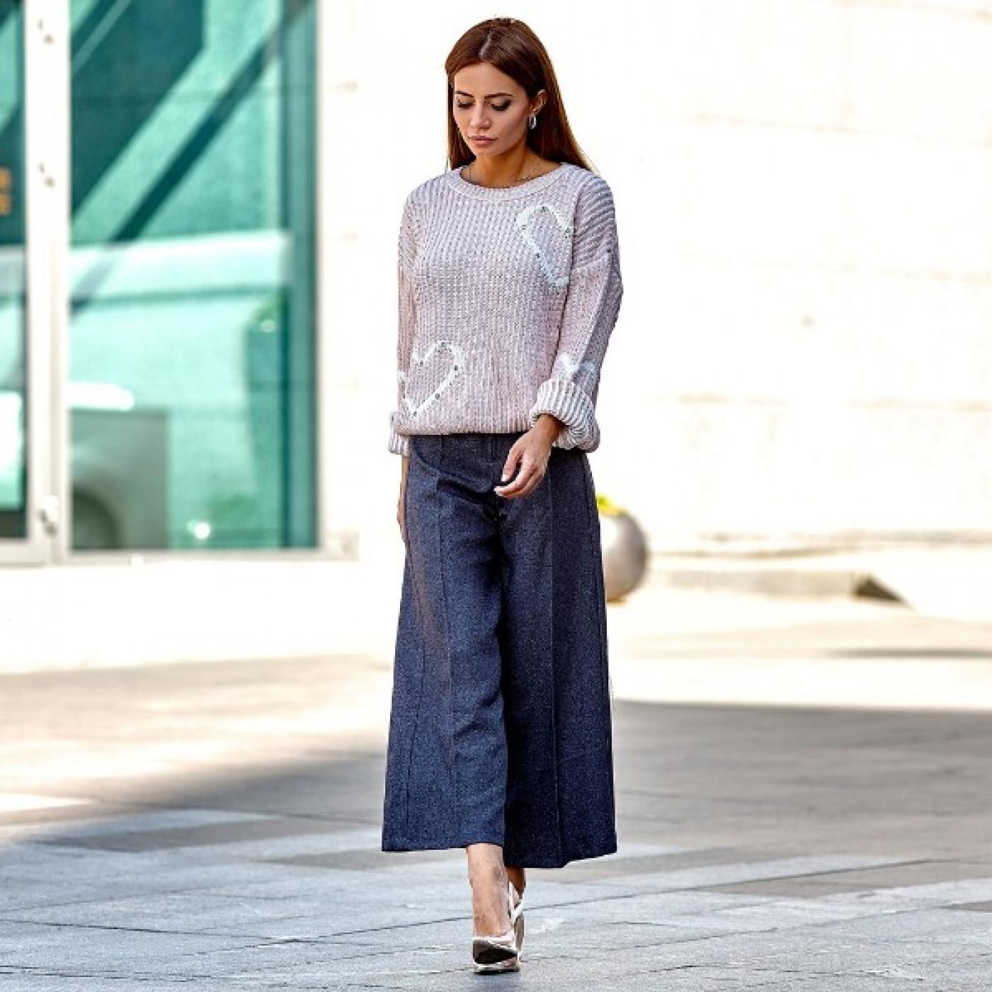 Класичні жіночі брюки 3191