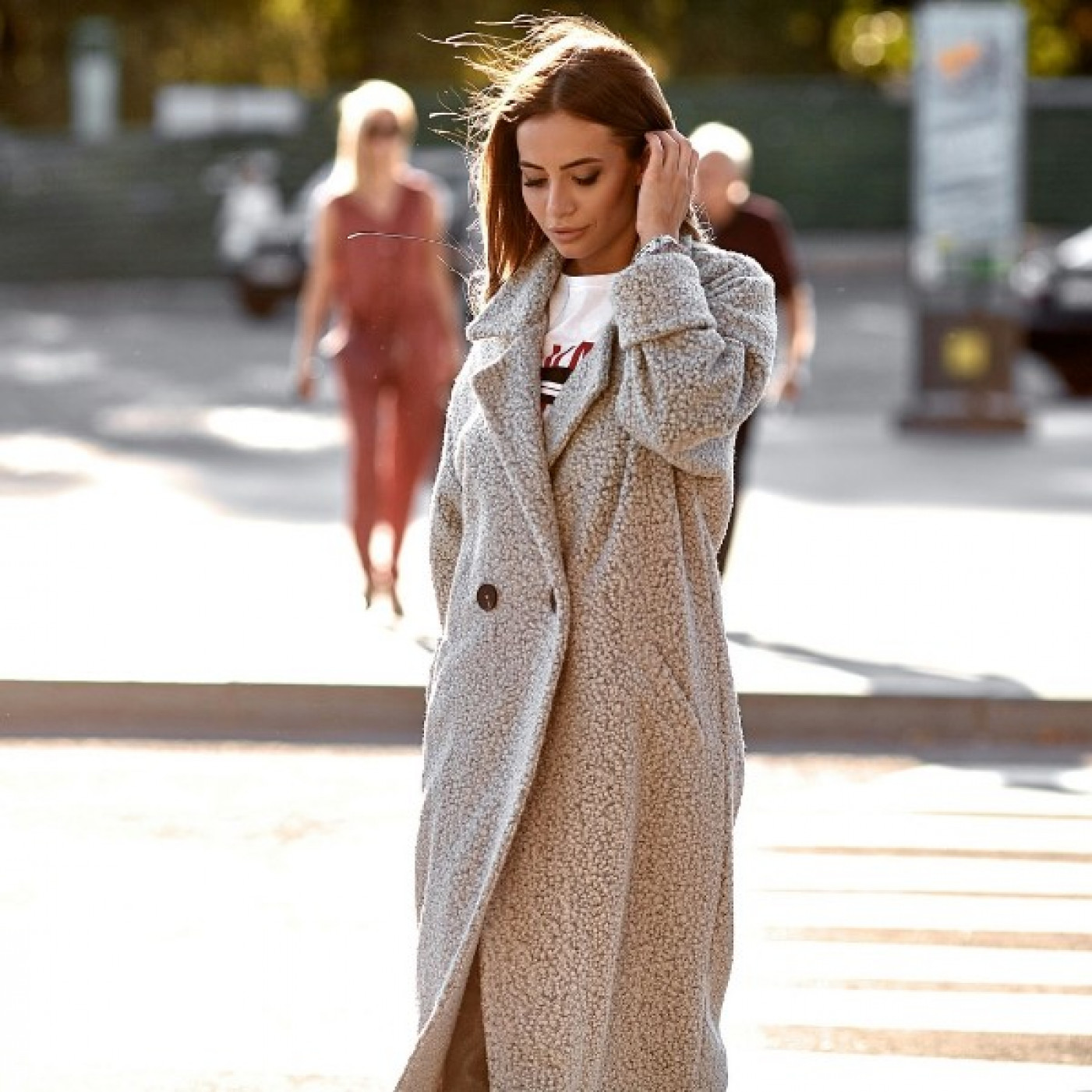 Стильне пальто 11129