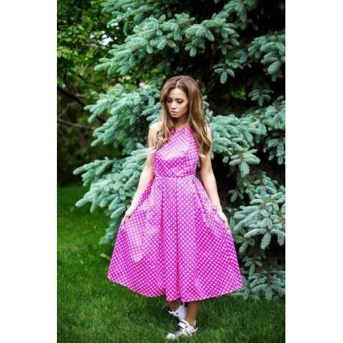 Платье в горошек 110590