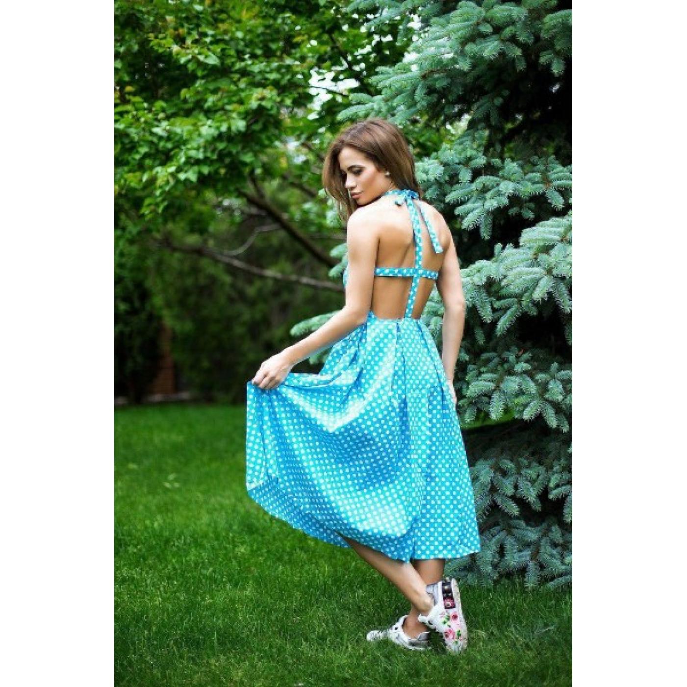 Плаття в горошок 110590