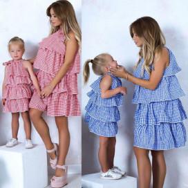 Платье взрослое familylook 10580