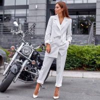 Стильный костюм с пиджаком 2126-9796
