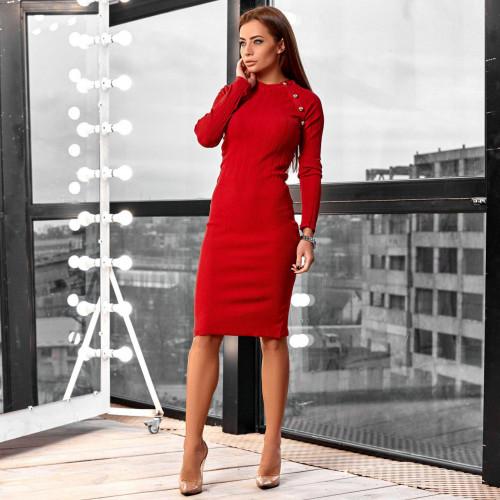 Платье мелкая вязка  2022