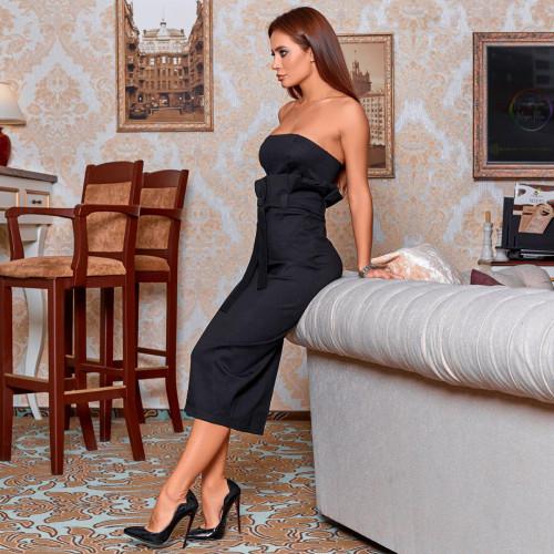 Стильное платье 11305