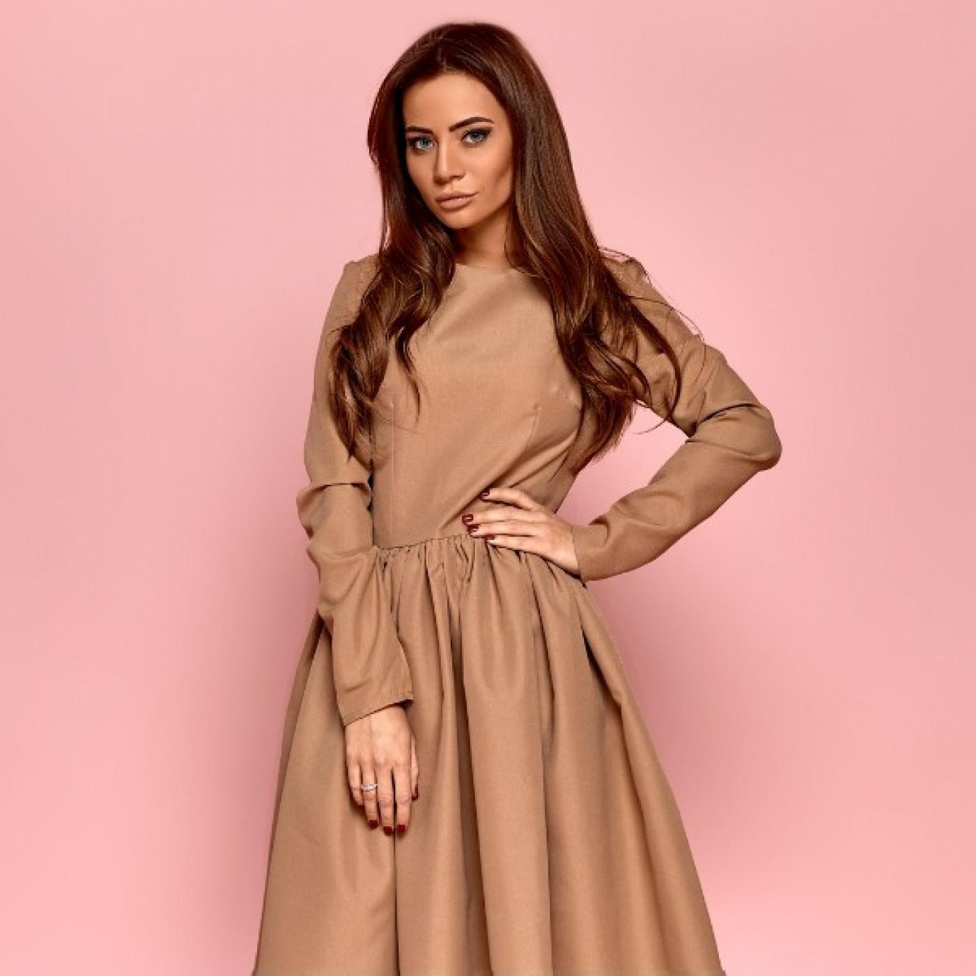 Сукня з рукавами 11164