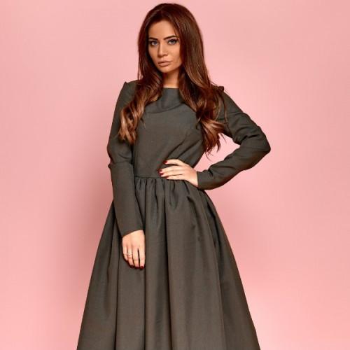 Платье с рукавами 11164