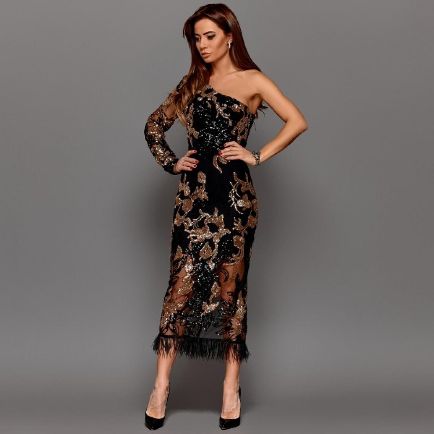Довга сукня 11241
