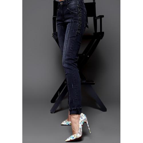 Черные джинсы 7111-001