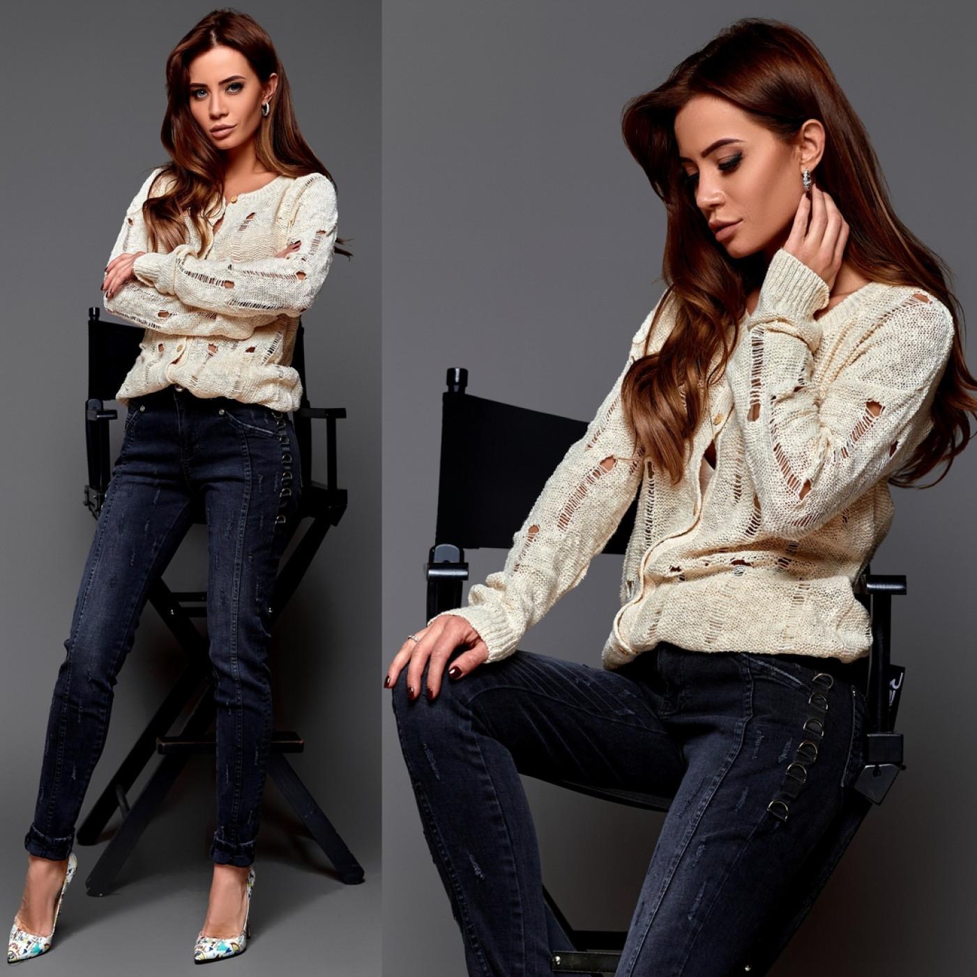 Чорні джинси 7111-001