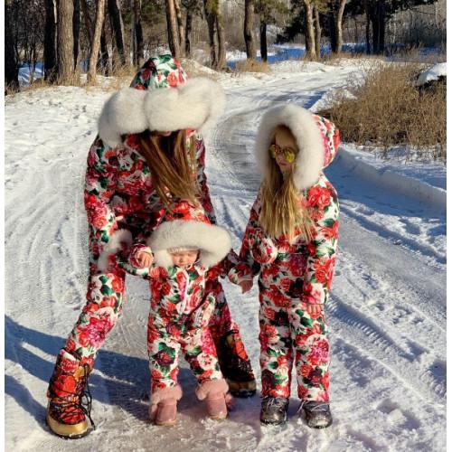 Зимний комбинезон Family Look детский 11212