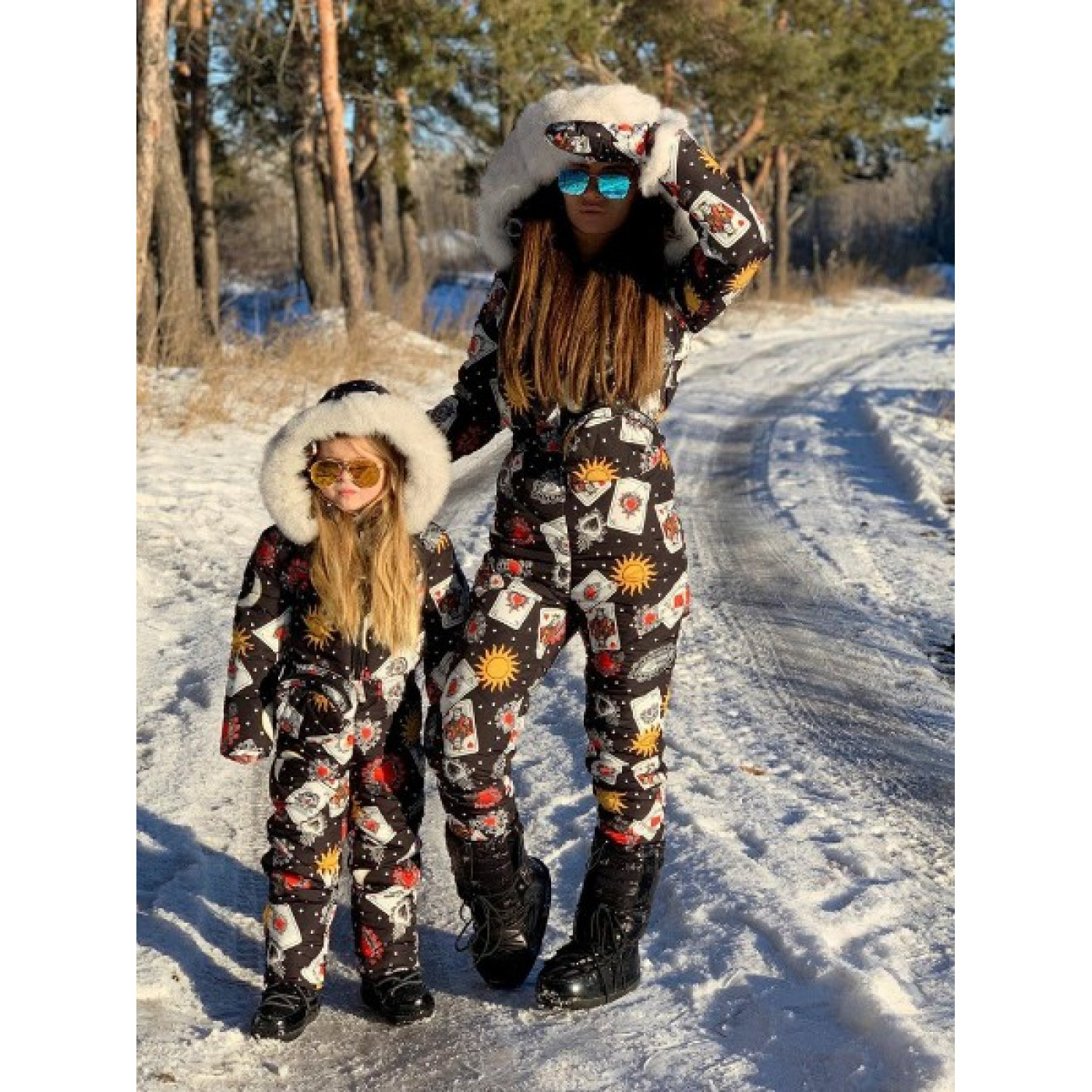 Зимний комбинезон Family Look взрослый 11213