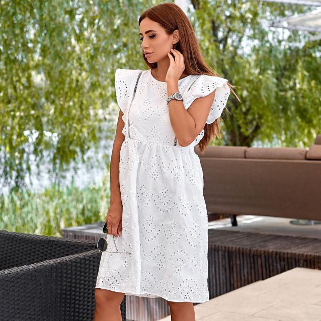 Летнее легкое платье 9500