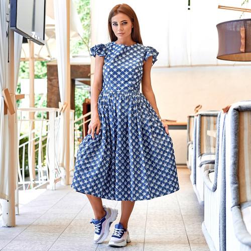Джинсовое платье 11088