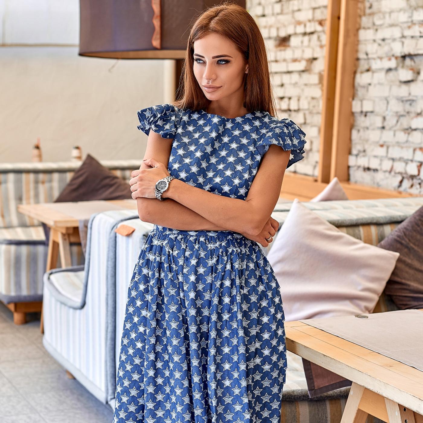 Джинсова сукня 11088